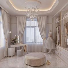 Design by Women's dressing room! There are many variations on this topic - it can be with back panels and hinged drawers, which… Dream Closet Design, Room Design, Interior Design, House Interior, Dream Rooms, Decor Design, Bedroom Decor, Home, Bedroom Design