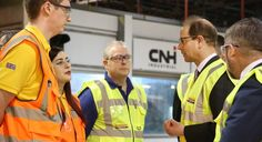 2 HRH The Earl of Wessex Royal Visit CNH Industrial Basildon