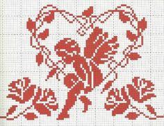 cherub in heart of leaves                                                       …