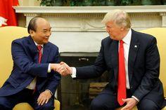 Vietnamese Prime Minister Nguyen Xuan Phuc and President Donald Trump, vietnam veteran news, mack payne
