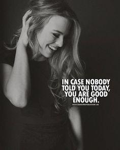 Yes. 'I'm good enough and I like me.' 🙂
