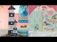 YouTube Shabby, Ideas Manualidades, Frame, Crafts, Home Decor, Scrappy Quilts, Craft Projects, Craft Videos, Tea Pots
