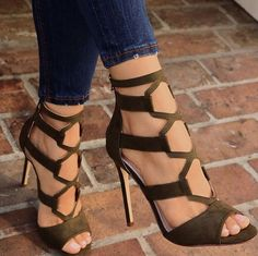 33e627a3ca heeled #sandals Green Sandals, Chunky Sandals, Silver Sandals, Jelly  Sandals, Gladiator