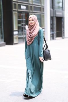 Basic Dress Teal Green