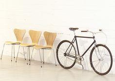 velorbis  fritz hansen create the arrow seven 60 bicycle collection http://ift.tt/1LBZQ6J