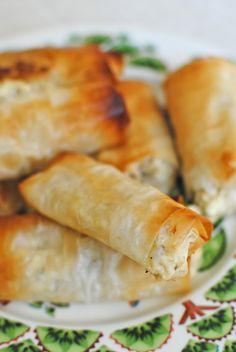 filodegsrullar med fetaost Vegetarian Meal Prep, Healthy Dinner Recipes, Vegetarian Recipes, I Love Food, Good Food, Yummy Food, Food Crafts, Diy Food, Everyday Food