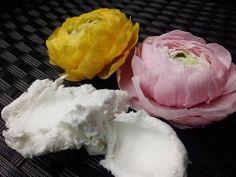 НЕ ВАРЁНАЯ МАССА для лепки цветов от Риты.Not cookt mass for Molding flo...