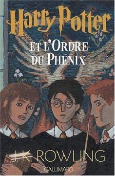 Harry Potter, tome 5 : Harry Potter et l'ordre du phénix J. Harry Potter Book Covers, Harry Potter Artwork, First Harry Potter, Theme Harry Potter, Harry Potter Films, Rowling Harry Potter, Miraculous, Good Books, My Books