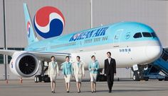 Korean Air has unveiled its brand new Boeing 787-9 Dreamliner. The aircraft will be operated with a total of 269 seats; 6 first class seats, 18 Prestige class seats and 245 Economy class seats.