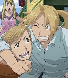 Full Metal Alchemist. Elric Brothers