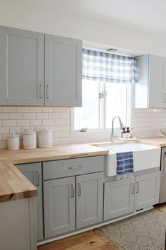 Kitchen Our small kitchen remodel reveal on a budget with grey cabinets oak wood flooring stainless Small Kitchen Renovations, Diy Kitchen Remodel, Diy Kitchen Cabinets, Grey Cabinets, Kitchen Countertops, Soapstone Kitchen, Granite Worktops, Interior Design For Small Kitchen, Designs For Small Kitchens