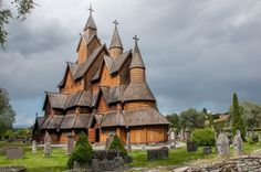 The Heddal Stave Church in Norway (Photo: L.C. Nøttaasen/CC BY 2.0)  There, stave churches like the Heddal Church (the largest of the original stave churches), or the Hopperstad Church (which may date back as far as 1034 CE), have been preserved over the centuries. These medieval churches were notable for mixing Christian iconography and pagan designs like dragons and animals, giving them a distinctive look found nowhere else in the world.