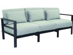 Sofa w/ 2 Pillows Brown jordan patio furniture, Modern