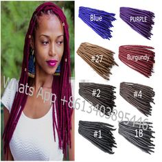 New Fashion Fauxlock Synthetic Hair Extension Crochet Braids