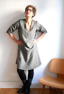 1000STOFF: Darling Ranges Winterkleid aus Wolle Seide