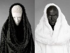 portrait reference albino