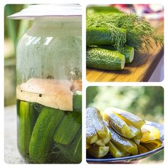 Pickled cucumber Pickling Cucumbers, Pickles, Ideas, Food, Eten, Pickle, Pickling, Meals, Thoughts