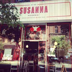 Susanna Pizzeria on Bleecker Street, NYC