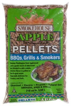 Smokehouse Products Wood Pellets - Apple