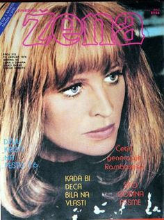 Julie Christie, Zena magazine [Yugoslavia (Serbia and Montenegro)], 31 January 1976.