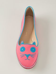 Shop Charlotte Olympia 'Mexi-cat' espadrilles in Biondini Paris from the world's best independent boutiques at farfetch.com. Over 1000 designers from 300 boutiques in one website.