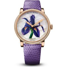 Arnold & Son HM Flower Special Editions - Purple Iris Diamonds Rose Gold 1LCMP.M03A.L512A