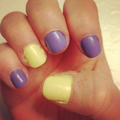 mixed #pastels #nails - hannahshaner.com