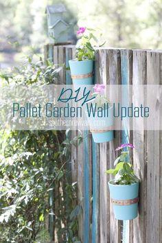 DIY Pallett Garden W