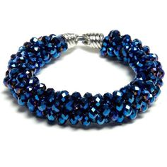 Blue Iris | Free Jewelry Patterns | Prima Bead