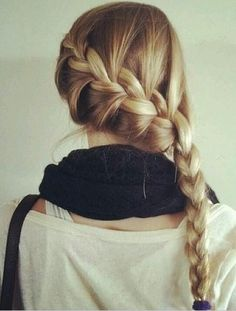 Love this hair Hair Styles Tutorial. love her hair Summer Hairstyles, Pretty Hairstyles, Braided Hairstyles, Amazing Hairstyles, Classic Hairstyles, Homecoming Hairstyles, Wedding Hairstyles, Purple Braids, Purple Hair