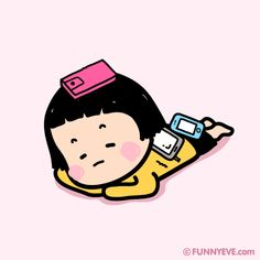 Mobile Girl, MiM Cute Couple Cartoon, Cute Love Cartoons, Baby Cartoon, Gifs, Funny Pix, Cute Love Gif, Cartoon Stickers, Funny Girl Quotes, Line Friends
