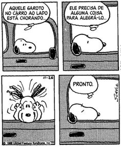 Snoopy - Humor - Tirinha