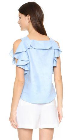 Amanda Uprichard Claudette Top | SHOPBOP  Extra 25% Off Sale Styles Use Code: SCORE17