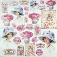 Ricepaper/ Decoupage paper, Scrapbooking Sheets /Craft Paper Fragrance