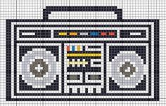 In celebration of the new year, let's party it in with an old school boombox!