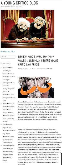 WNO OBA Paul Bunyan the critics!