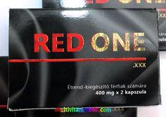 Red ONE 2 db kapszula, Prémium minőségű  alkalmi potencianövelő, vágyfokozó Férfiaknak