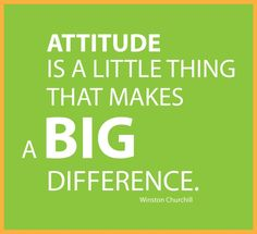 attitude quote by churchill