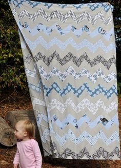 Kate Conklin Designs: Frequency Quilt Tutorial