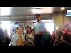 ▶ Así impidió Conviasa a Leopoldo López viajar al Táchira - YouTube