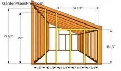 greenhouse design plans, attached to house - Bing images