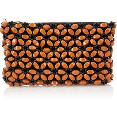 Marni Beaded clutch ($515) ❤ liked on Polyvore