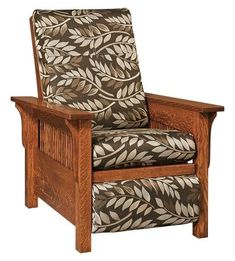 Amish Lancaster Mission Recliner Exquisite seating for living room, family or den. The Lancaster provides stylish comfort. Customize in choice of wood, stain and upholstery. #recliner #livingroom Mission Furniture, Amish Furniture, Custom Furniture, Furniture Making, Living Room Table Sets, Living Room Seating, Living Room Furniture, Leggett And Platt, Greenhouse Fabrics