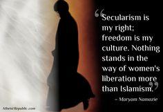 ~ Maryam Namazie