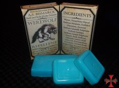 Werewolf Repellent Soap [ASB-BBW-0004] - $6.66 : The Airship Bismarck, Fine Quality Steampunk Masks, Goggles, and Accessories