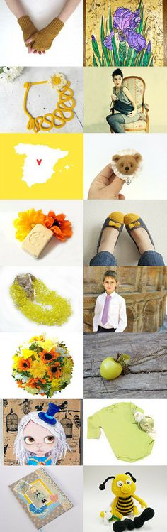 Sunshiny by econica shop on Etsy--Pinned with TreasuryPin.com