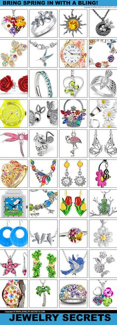 ► ► Bring Spring in with a BLING! smile emoticon ► ►
