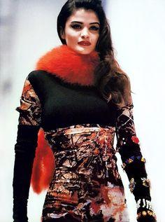 Helena Christensen for Dolce & Gabbana Fall/Winter 1991