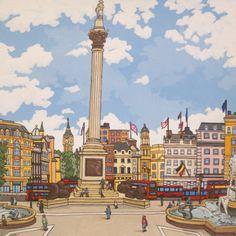 Trafalgar Square by artist Jonathan Chapman