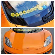 Cars & Life | Cars Fashion Lifestyle Blog: McLaren MP4-12C with Plastic Ducks in Birmingham